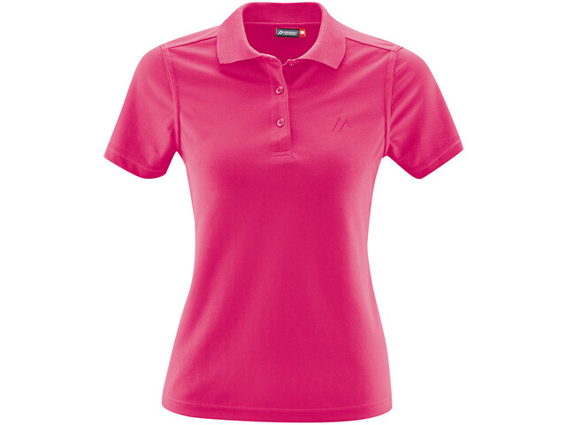 Maier Sports Ulrike Polo Femme, fandango pink